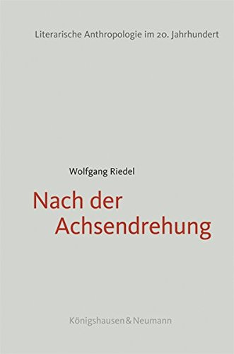 Nach der Achsendrehung: Wolfgang Riedel