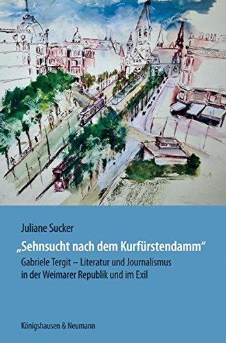Sehnsucht nach dem Kurfürstendamm: Juliane Sucker