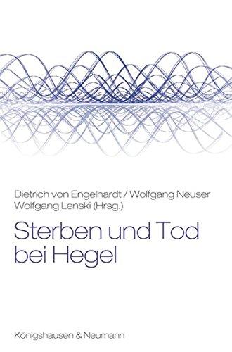 9783826057533: Sterben und Tod bei Hegel