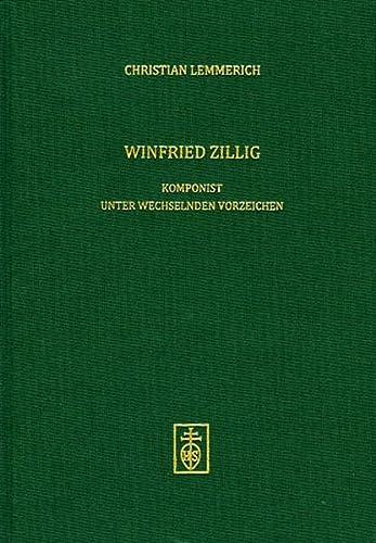 Winfried Zillig: Christian Lemmerich