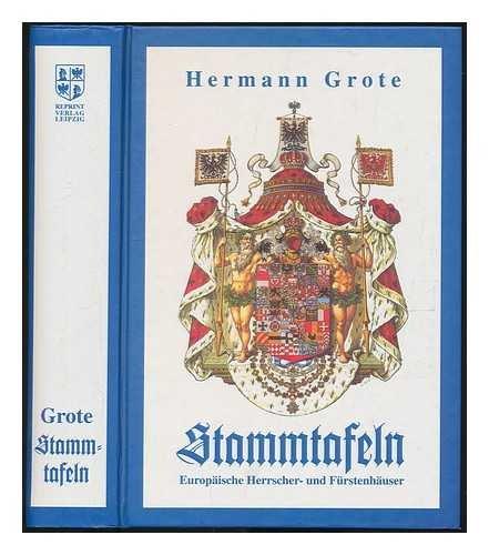 9783826207006: Stammtafeln Europäischer Herrscher- und Fürstenhäuser