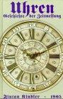9783826211102: Die Uhren