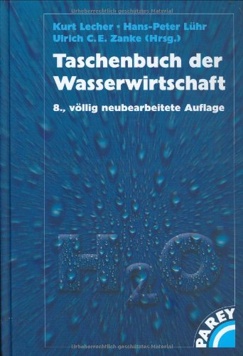 9783826384936: Taschenbuch der Wasserwirtschaft