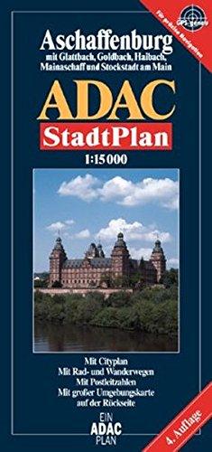 9783826400193: ADAC Stadtpläne, Aschaffenburg mit Glattbach, Goldbach, Haibach, Mainaschaff und Stockstadt am Main;
