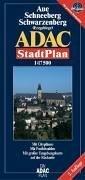 ADAC Stadtplan Aue / Schneeberg 1 : Steiner, Rudolf