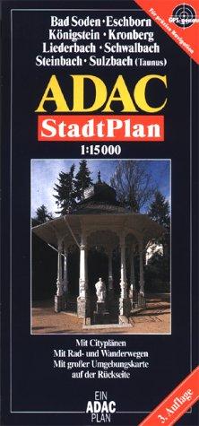 9783826400421: ADAC Stadtplan Bad Soden / Eschborn 1 : 15 000.