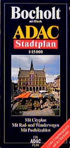 9783826400605: ADAC Stadtplan Bocholt 1 : 15 000: Mit Rhede. Mit Cityplan. Mit Rad- und Wanderwegen. Mit Postleitzahlen. Mit großer Umgebungskarte