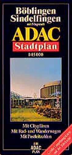 9783826400667: ADAC Stadtplan B�blingen / Sindelfingen 1 : 17 500.