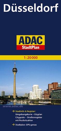 9783826401053: Ein ADAC Plan: Mit City- und Durchfahrtsplan, mit Wanderwegen, mit Postleitzahlen : grosse Umgebungskarte auf der Rückseite (German Edition)