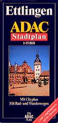 9783826401244: ADAC Stadtpläne, Ettlingen