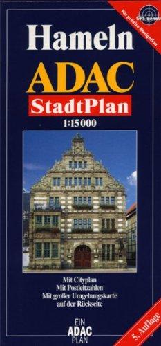 9783826401848: ADAC Stadtplan Hameln 1 : 15 000: Mit Cityplan. Mit Postleitzahlen. Mit gro�er Umgebungskarte