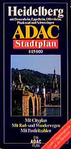9783826401909: Ein ADAC Plan: Mit Cityplan, mit Rad- und Wanderwegen, mit Postleitzahlen : grosse Umgebungskarte auf der Rückseite (German Edition)