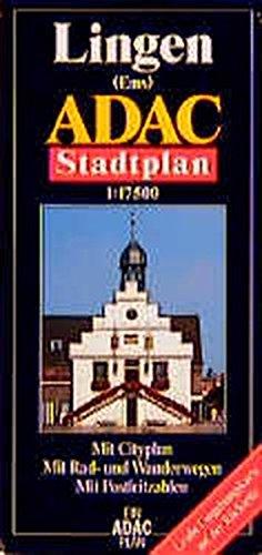 9783826402715: ADAC Stadtplan Lingen ( Ems) 1 : 17 500: Mit Cityplan. Mit Rad- und Wanderwegen. Mit Postleitzahlen. Mit großer Umgebungskarte