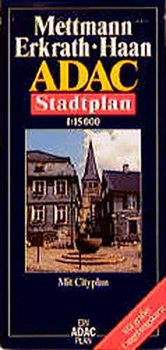 9783826402975: ADAC Stadtplan Mettmann / Erkrath / Haan 1 : 15 000: Mit Cityplan. Mit großer Umgebungskarte