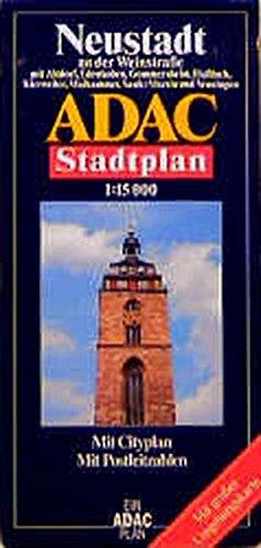 9783826403163: ADAC Stadtplan Neustadt an der Weinstra�e 1 : 15 000.: Mit Altdorf, Edenkoben, Gommersheim, Ha�loch, Kirrweiler, Maikammer, Sankt Martin und Venningen.