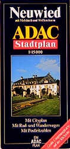 ADAC Stadtplan Neuwied 1 : 15 000.: Steiner, Rudolf