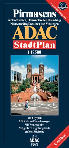 9783826403460: ADAC Stadtplan Pirmasens 1 : 17 500.