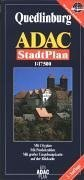 9783826403538: Quedlinburg (Germany) 1:15,000 Street Map ADAC