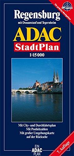9783826403606: ADAC Stadtplan Regensburg 1 : 15 000.