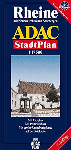 9783826403682: ADAC Stadtplan Rheine 1 : 17 500: Mit Neuenkirchen und Salzbergen. Mit Cityplan. Mit Postleitzahlen. Mit großer Umgebungskarte
