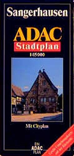 9783826403859: ADAC Stadtplan Sangerhausen 1 : 15 000: Mit Cityplan. Mit großer Umgebungskarte