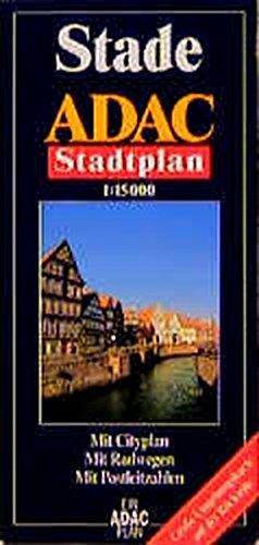 9783826404153: ADAC Stadtplan Stade 1 : 15 000: Mit Cityplan. Mit Radwegen. Mit Postleitzahlen. Mit großer Umgebungskarte