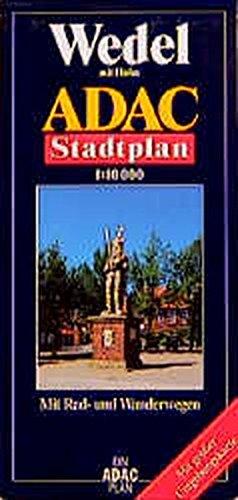 9783826404511: ADAC Stadtplan Wedel mit Holm 1 : 10 000: Mit Rad- und Wanderwegen. Mit großer Umgebungskarte