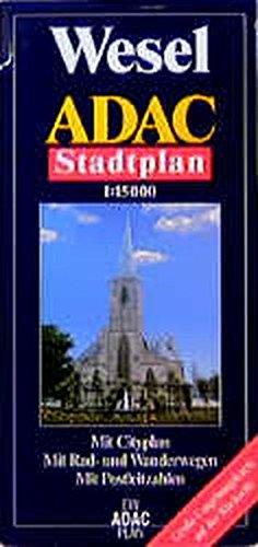 9783826404658: ADAC Stadtplan Wesel 1 : 15 000.