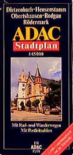 9783826405624: ADAC Stadtplan Dietzenbach / Heusenstamm / Obertshausen / Rodgau / Rödermark 1 : 15 000