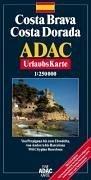 9783826408090: ADAC UrlaubsKarte Costa Brava, Costa Dorada 1 : 200 000.