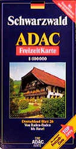 9783826409349: Carte touristique : Schwarzwald, N° BI26