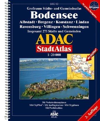 9783826409523: Atlas Bodensee