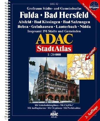 9783826409530: ADAC Stadtatlas Fulda, Bad Hersfeld 1 : 20 000.