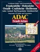 9783826409547: ADAC StadtAtlas Frankenhöhe, Hohenlohe, Ostalb, Crailsheim, Heilbronn 1 : 20 000: Mit Aalen, Heidenheim, Künzelsau und Schwäbisch Hall. Grossraum ... 179 Städte und Gemeinden. 1:20000. GPS-genau