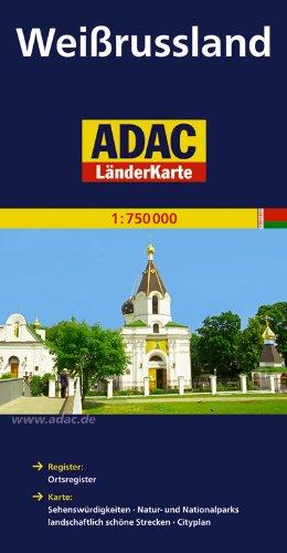 9783826410642: ADAC LänderKarte Weißrussland 1 : 750 000