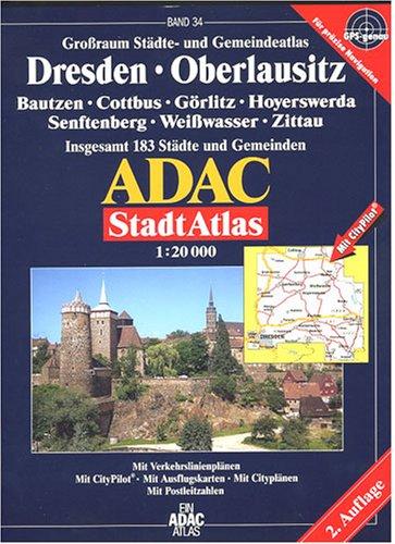 9783826411298: ADAC Stadtatlas Großraum Dresden- Oberlausitz 1:20 000.