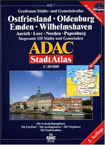 9783826411311: ADAC Stadtatlas Großraum Ostfriesland 1 : 20 000.