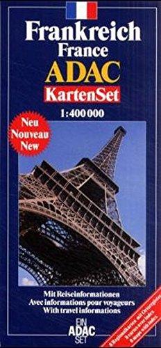 9783826411809: ADAC Karte, Frankreich