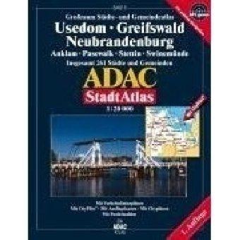 9783826411847: ADAC Großraum StadtAtlas Usedom, Greifswald, Neubrandenburg 1 : 20 000.