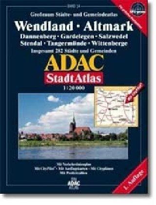 9783826411991: ADAC Stadtatlas Großraum Wendland / Altmark 1 : 20 000.