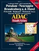 9783826412004: ADAC Stadtatlas Großraum Potsdam / Neuruppin 1 : 20 000.