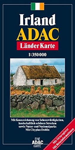 9783826412608: ADAC Karte, Irland