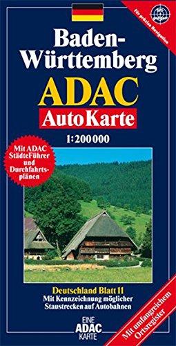 9783826412929: Baden-Württemberg: 1:200000. GPS-geeignet
