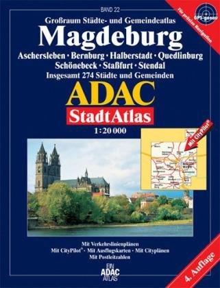 9783826413537: ADAC StadtAtlas Magdeburg 1 : 20 000: Aschersleben, Bernburg, Halberstadt, Quedlinburg, Schönebeck, Stassfurt, Stendal. Grossraum Städte- und ... 274 Städte und Gemeinden. 1:20000. GPS-genau
