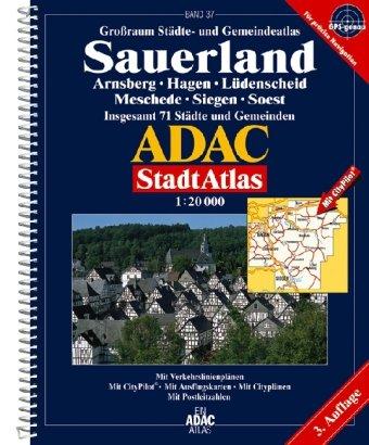 9783826413612: ADAC StadtAtlas Sauerland 1 : 20 000