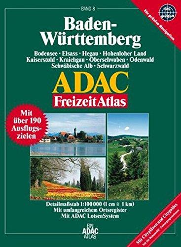 9783826413872: Baden-Württemberg: 1:100000, Bodensee, Elsass, Hegau, Hohenloher Land, Kaiserstuhl, Kraichgau, Oberschwaben, Odenwald, Schwäbische Alb, Schwarzwald