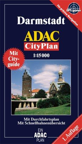 9783826414770: ADAC Cityplan Darmstadt 1 : 15 000: Mit Durchfahrtsplan. Mit Verkehrslinienplan