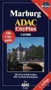 9783826414824: ADAC Cityplan Marburg 1 : 15 000: Durchfahrtsplan, Innenstadtvergrößerung, Cityguide, Straßenverzeichnis