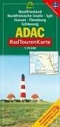 9783826415265: ADAC RadTourenKarte 01. Nordfriesland, Nordfriesische Inseln, Sylt, Husum, Flensburg, Schleswig. 1 : 75 000