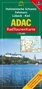 9783826415272: ADAC RadTourenKarte 02. Holsteinische Schweiz, Fehmarn, Lübeck, Kiel 1 : 75 000